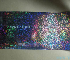 Dot holographic hot stamping